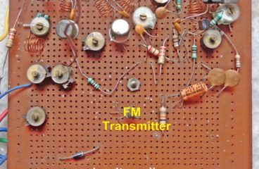 Homemade Mini FM Radio Station Transmitter Circuit