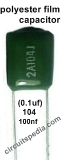 polyester film capacitor