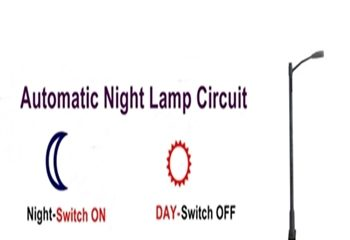 Automatic Night Lamp Using LDR