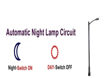 Automatic Light Operated switch using LDR | Dark Activated Switch ...