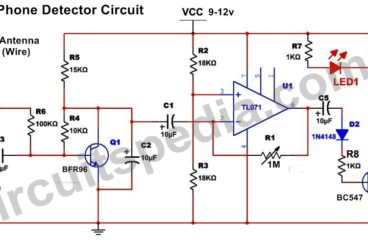 Mobile Phone Sensor Circuit
