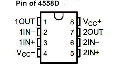 ic 4558 Subwoofer Bass Booster Circuit diagram , bass