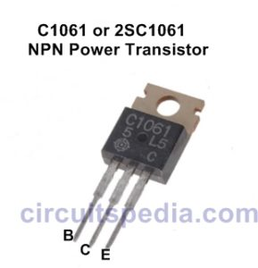 Pin out of c1061 or 2sc1061
