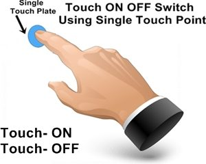 Single Touch ON OFF Switch