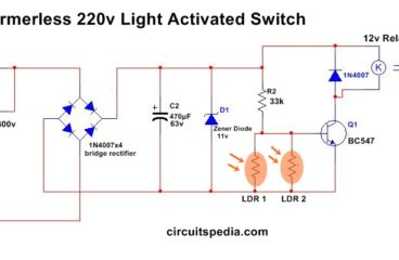 Automatic Night Light using LDR