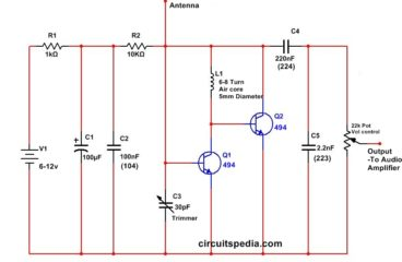 Very simple FM Radio Receiver Circuit