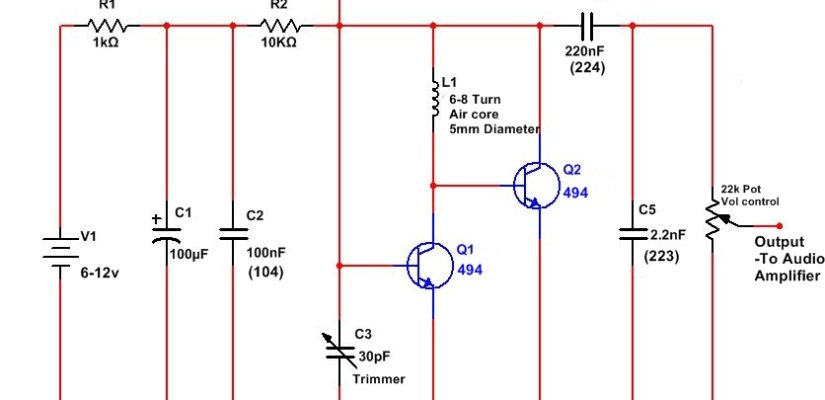 Fm Receiver Circuit Diagram - Wiring Diagram Img