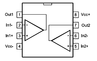 LM358 Pin