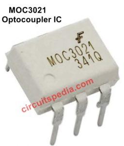 Optocoupler MOC3021