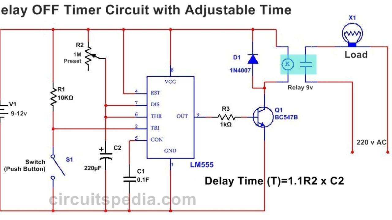 Time Delay Wiring Diagram | Wiring Diagram on