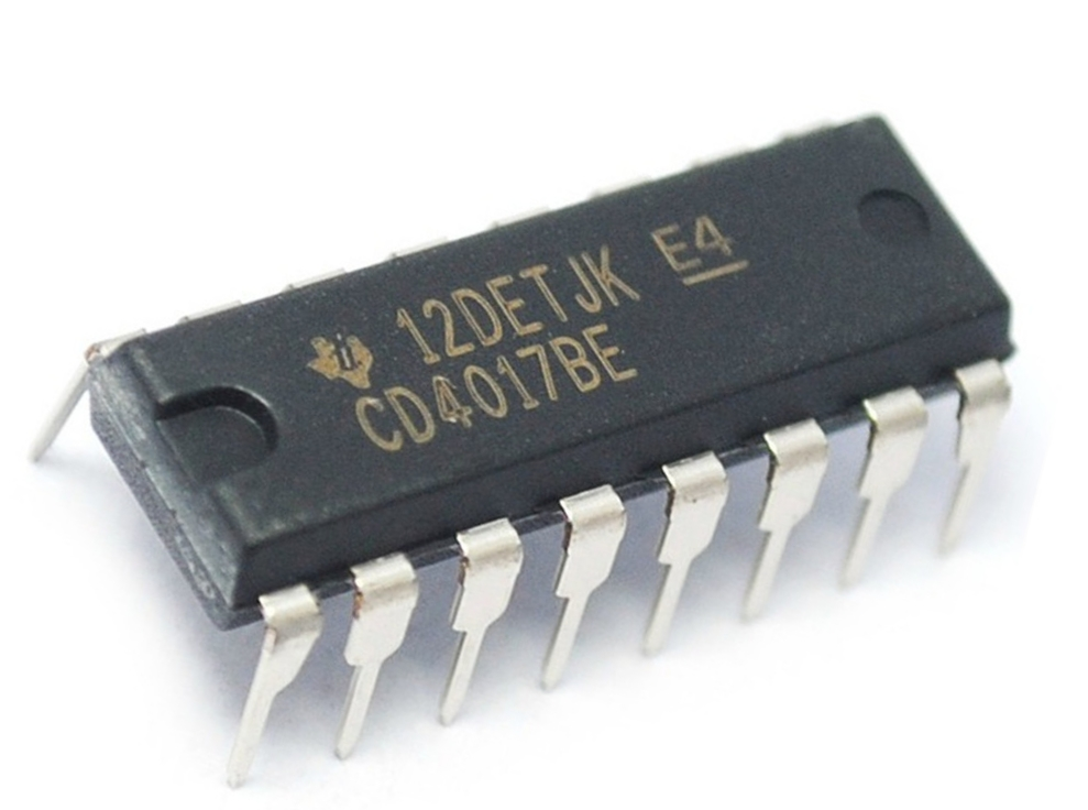 Decade Counter IC 4017 Working   CD4017 Counter IC Working