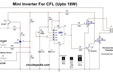 CFL Driver Inverter Circuit