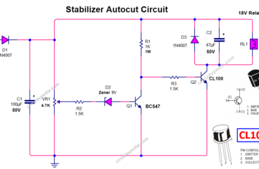 Autocut Circuit For Stabilizer