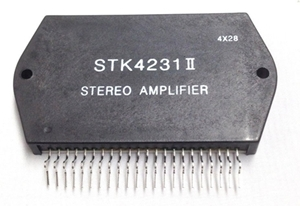 STK4231 II 100w + 100w Stereo Audio Amplifier Circuit