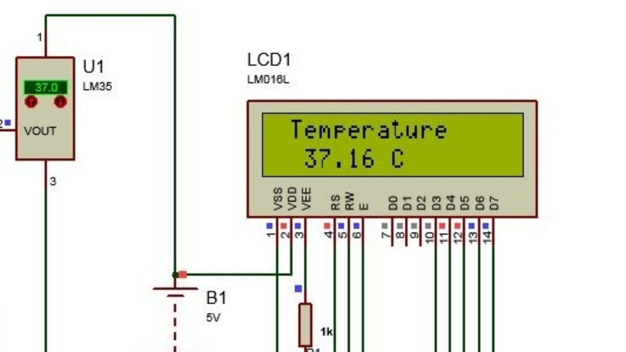 Arduino LM35 Code, Arduino LM35 temperature sensor with lcd