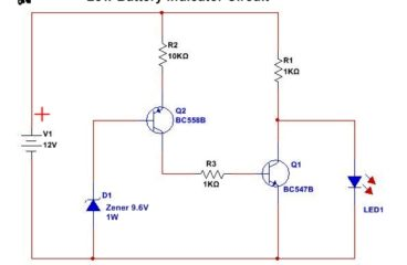 Top 5 Circuit diagram For Beginners