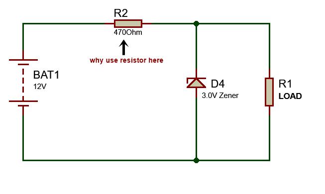 how zener diode regulate the voltage