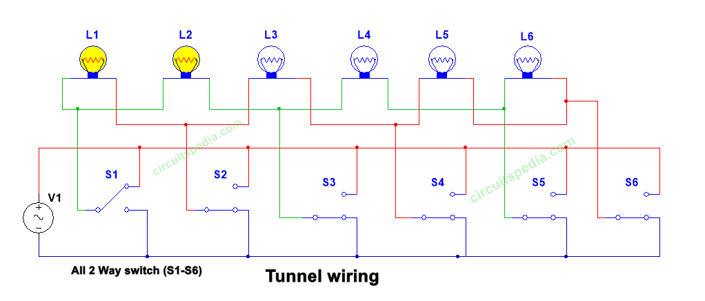 2 way switch wiring