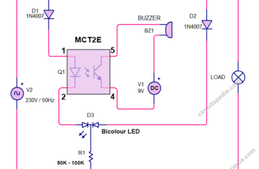 4 Fuse blown indicator circuit diagram