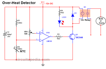 7 simple electronic circuit diagram for beginners